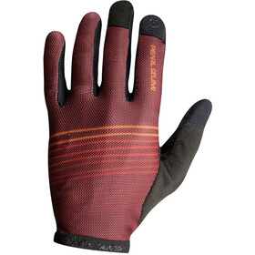PEARL iZUMi Divide Guantes Hombre, torch red/russet